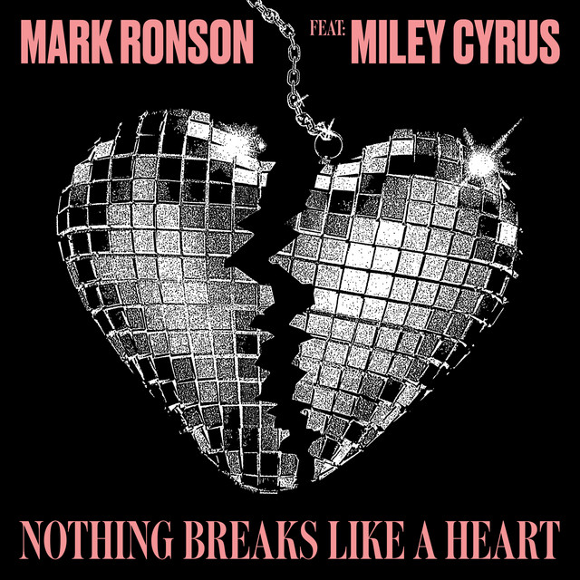 Mark Ronson Nothing Breaks Like a Heart (feat. Miley Cyrus) acapella