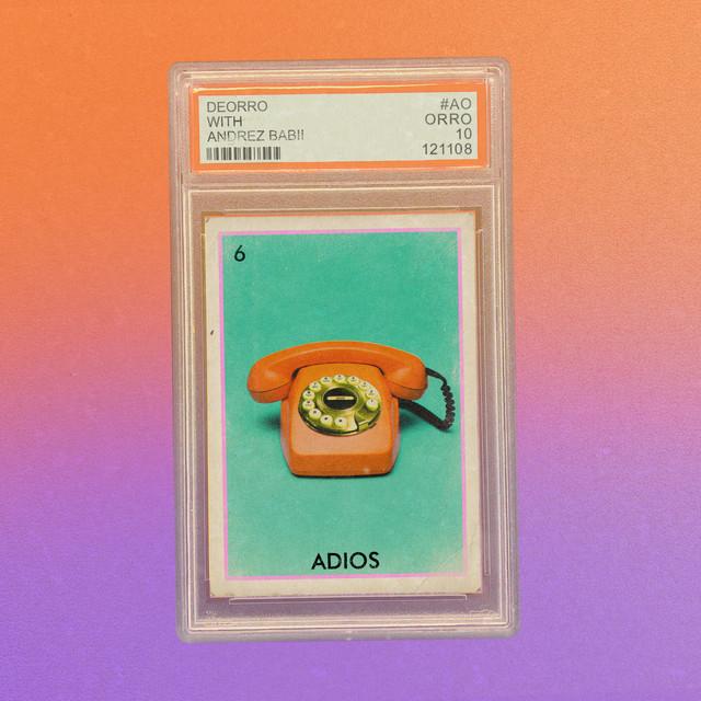 Adios album cover