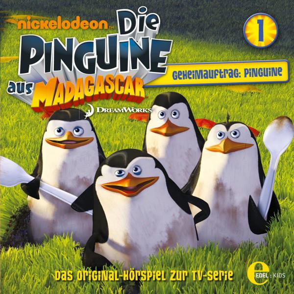 Folge 1: Geheimauftrag: Pinguine (Das Original-Hörspiel zur TV-Serie) Cover