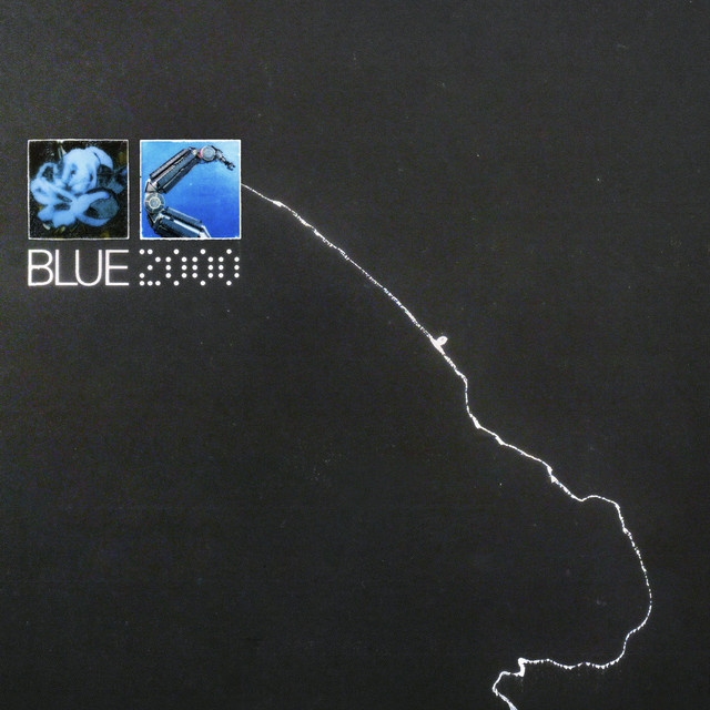 Album cover for BLUE 2000 by Victor Internet