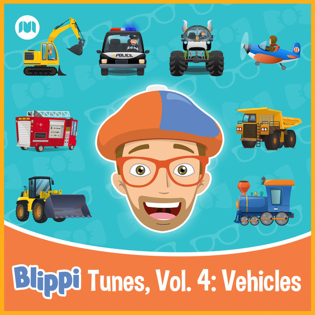Blippi Tunes, Vol. 4: Vehicles