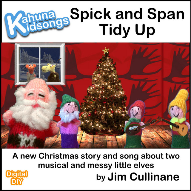 Spick and Span Tidy Up by Kahuna Kidsongs