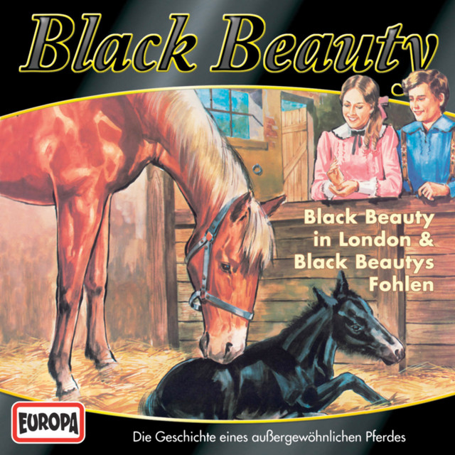 03 - Black Beauty in London - Black Beautys Fohlen Cover