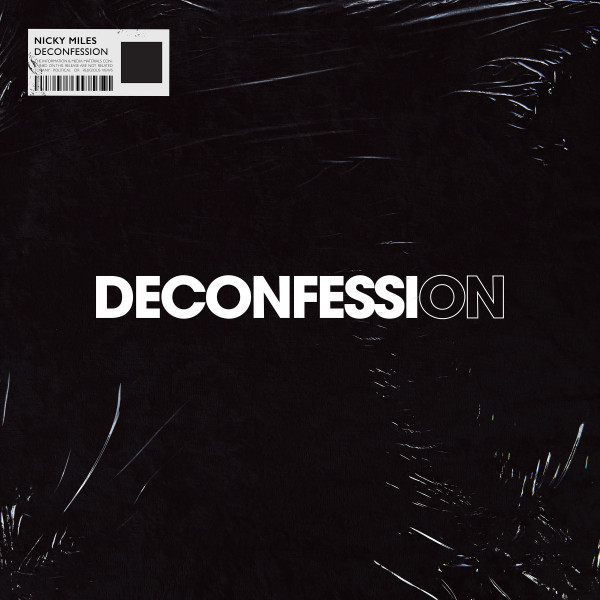 Artwork of the song 'Nicky Miles - Deconfession' release on 19 June 2020
