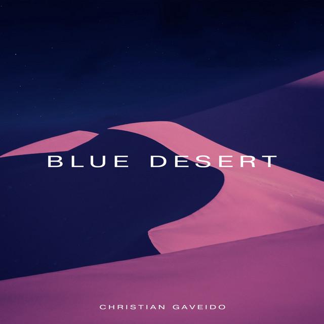 Blue Desert Image