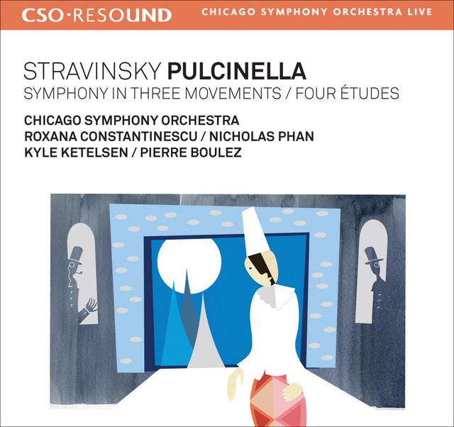 Stravinsky, I.: Pulcinella / Symphony in 3 Movements / 4 Etudes