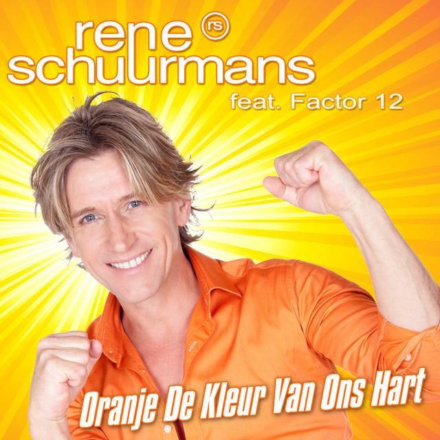 Oranje De Kleur Van Ons Hart
