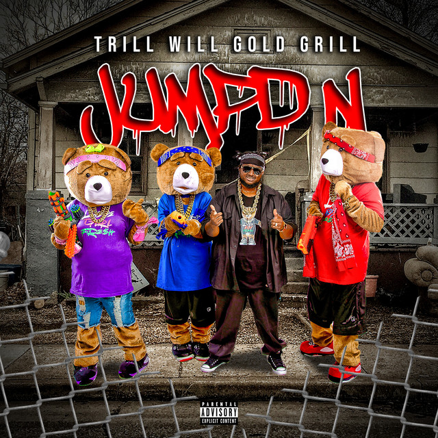 Trill Will Gold Grill