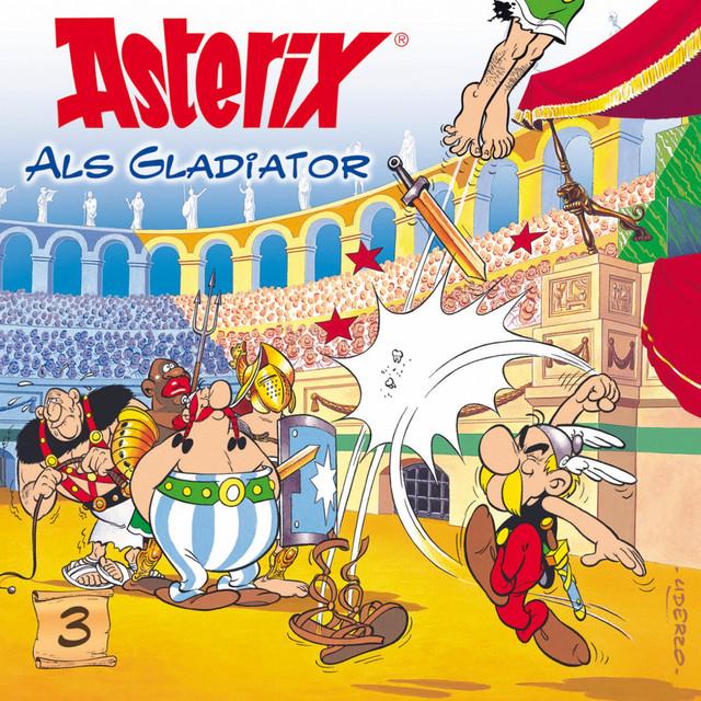 03: Asterix als Gladiator Cover
