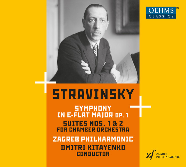 Stravinsky: Symphony in E-Flat Major and Suites Nos. 1 & 2