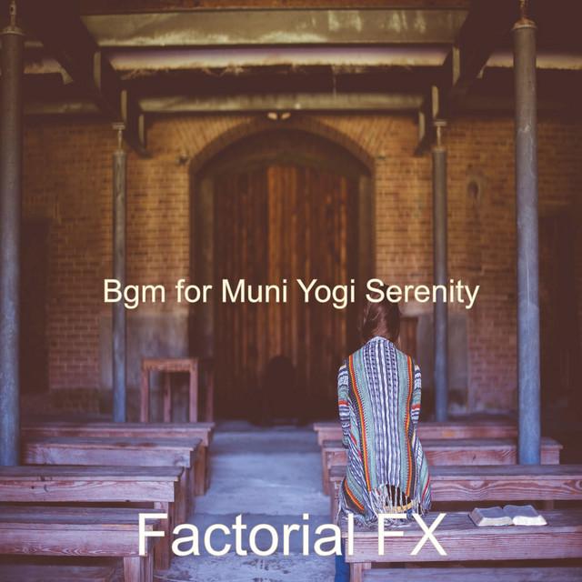 Album cover for Bgm for Muni Yogi Serenity by Factorial FX