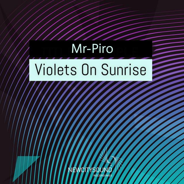 Violets On Sunrise
