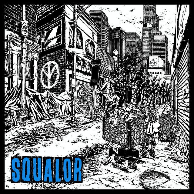 Trash Talk & Kenny Beats - Squalor cover