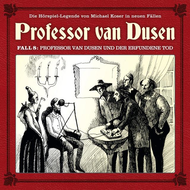 Die neuen Fälle, Fall 8: Professor van Dusen und der erfundene Tod Cover