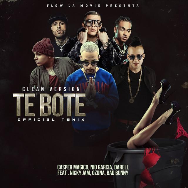 Te Boté (Clean Version) - Te Boté