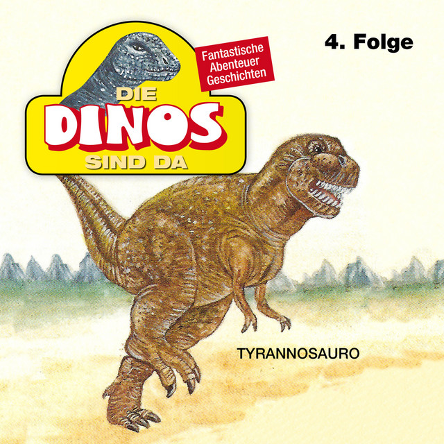 Folge 4: Tyrannosauro Cover