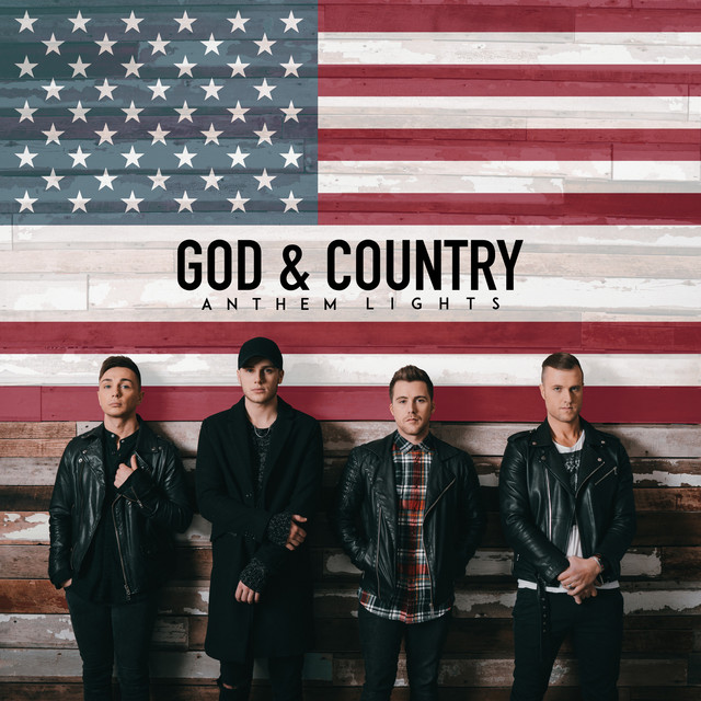 Album cover for God & Country by Anthem Lights
