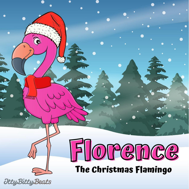 Florence the Christmas Flamingo by Itty Bitty Beats