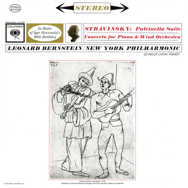 Stravinsky: Concerto for Piano and Wind Instruments & Pulcinella Suite (Remastered)