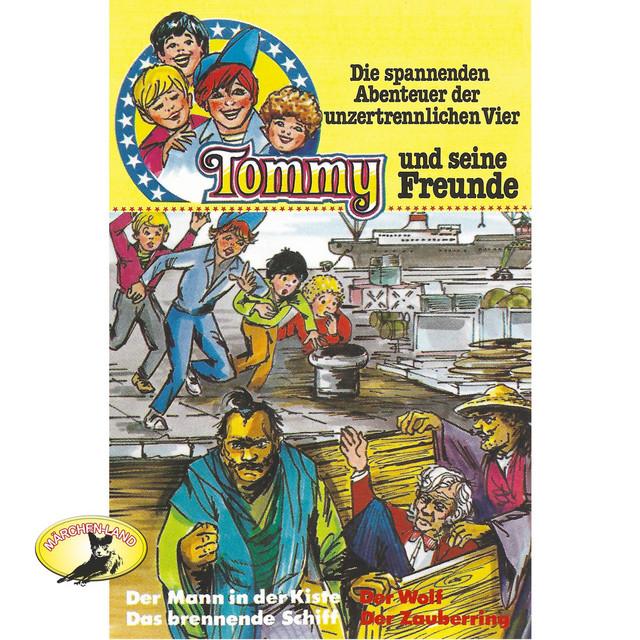 Folge 3: Der Mann in der Kiste  -  Das brennende Schiff  -  Der Wolf  -  Der Zauberring Cover