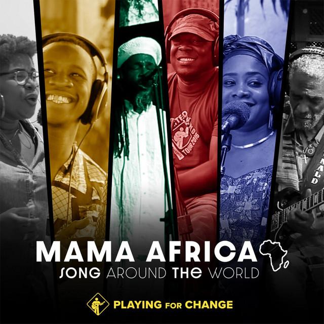 Mama Africa album cover