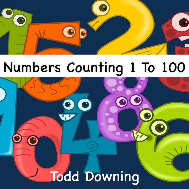 Numbers Counting 1 to 100 by Todd Downing