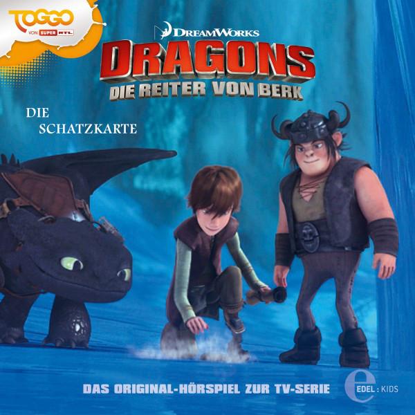 Folge 4: Alvin der Heimtückische  -  Die Schatzkarte (Das Original-Hörspiel zur TV-Serie) Cover