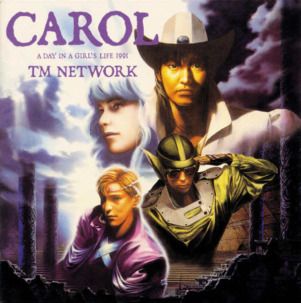 Image result for TM NETWORK - CAROL