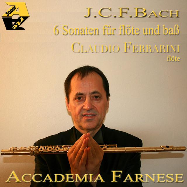 J.C.F.BACH: 6 Sonaten für flöte und baß