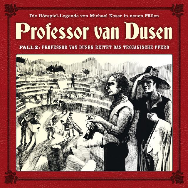 Die neuen Fälle, Fall 2: Professor van Dusen reitet das trojanische Pferd Cover