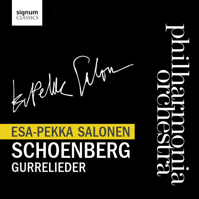 Philharmonia Orchestra with Esa-Pekka Salonen - Gurrelieder