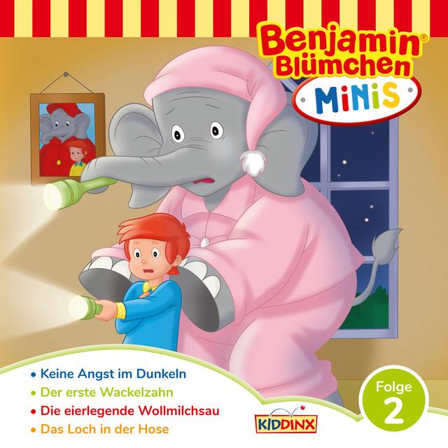 Benjamin Minis - Folge 2: Keine Angst im Dunkeln Cover