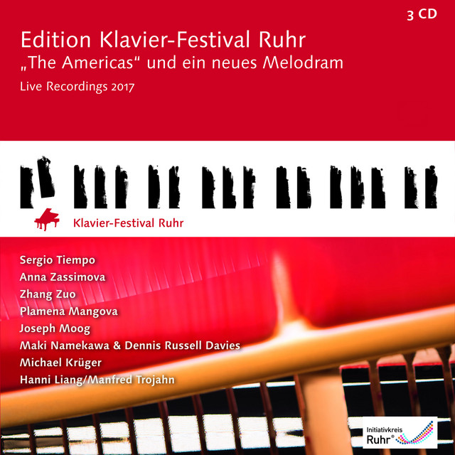 The Americas and a new Melodram: Edition Ruhr Piano Festival, Vol. 36 (Live)
