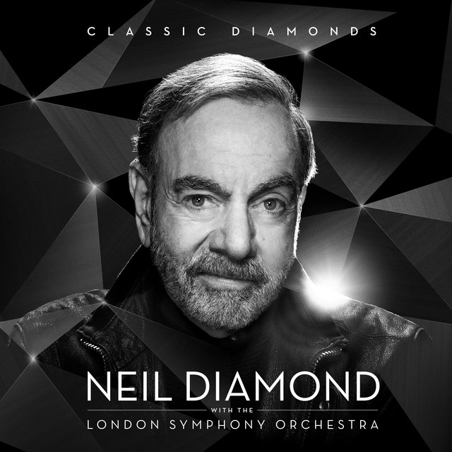 Album cover for Classic Diamonds With The London Symphony Orchestra by Neil Diamond