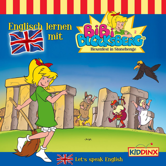 Englisch lernen mit Bibi Blocksberg - Folge 2 - Hexenfest in Stonehenge Cover