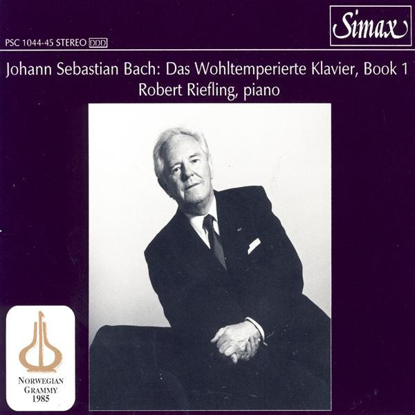 J.S. Bach: Das Wohltemperierte Klavier, Book 1, Bwv 846-869 [2 Cd]