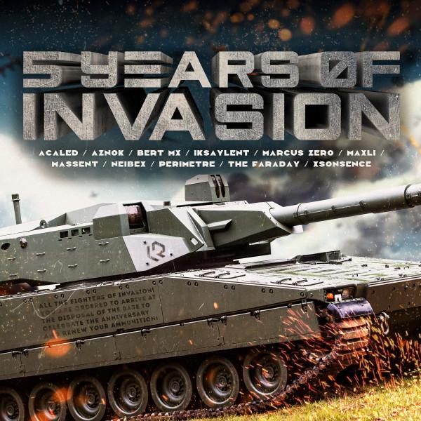 5 YEARS OF INVASION