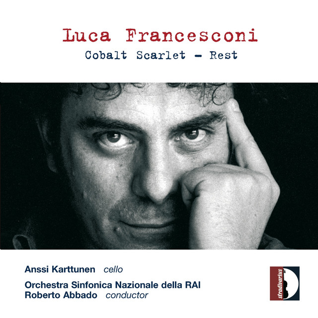 Luca Francesconi: Cobalt Scarlet - Rest