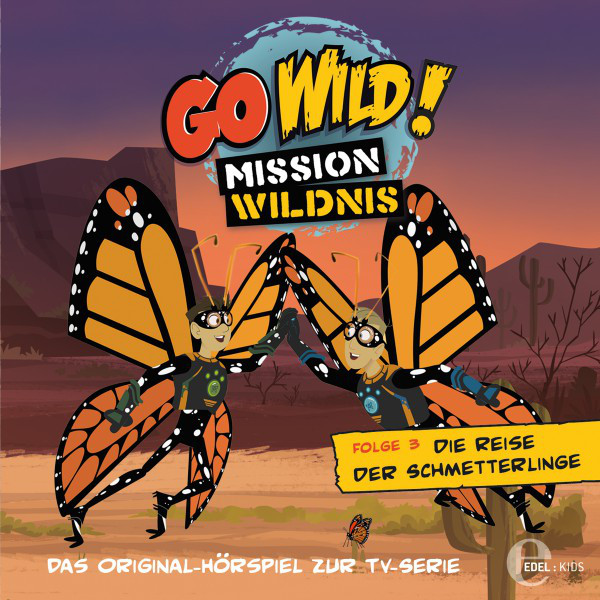 Folge 3: Die Reise der Schmetterlinge  -  Das Geheimnis der Regenwürmer (Das Original-Hörspiel zur TV-Serie) Cover
