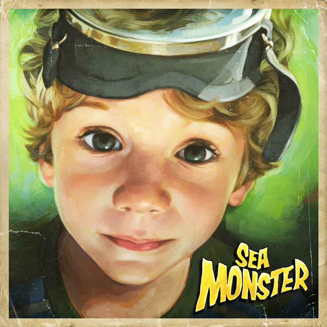 Album cover for Sea Monster by Joey Pecoraro