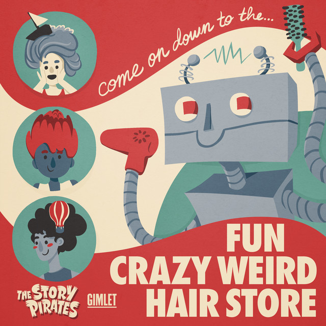 Fun Crazy Weird Hair Store by The Story Pirates