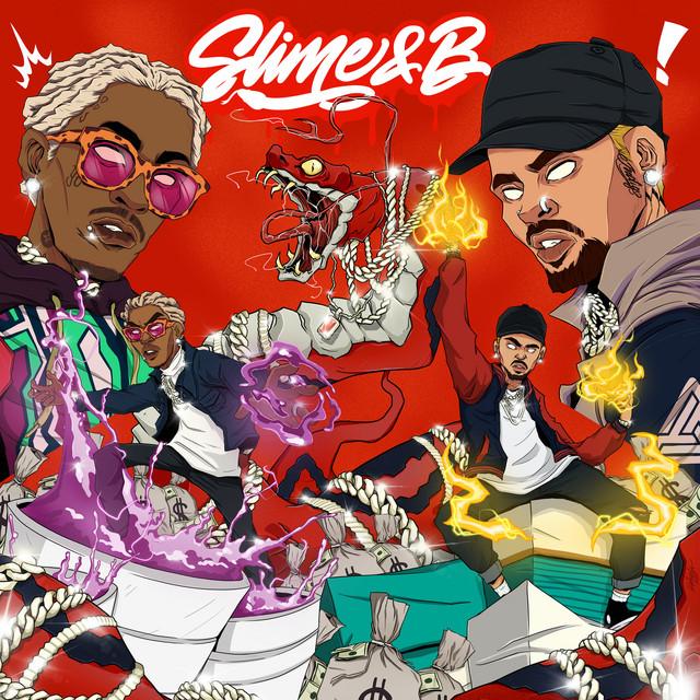 Young Thug & Chris Brown - Slime & B cover