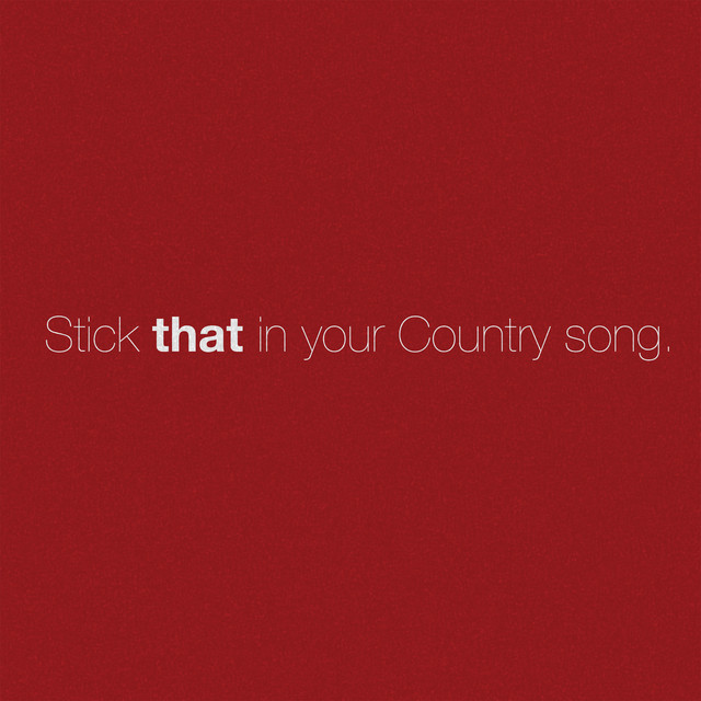 Stick That In Your Country Song cover art