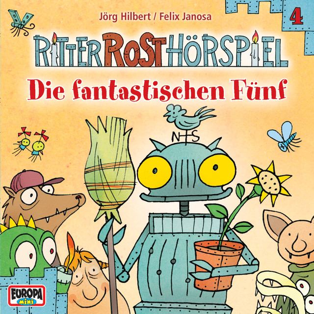 04 - Die fantastischen Fünf Cover