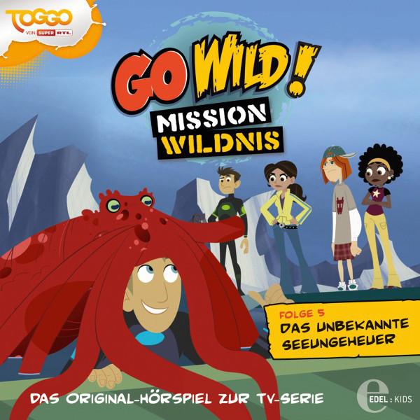 Folge 5: Das unbekannte Seeungeheuer  -  Wenn man vom Tasmanischen Teufel spricht (Das Original-Hörspiel zur TV-Serie) Cover