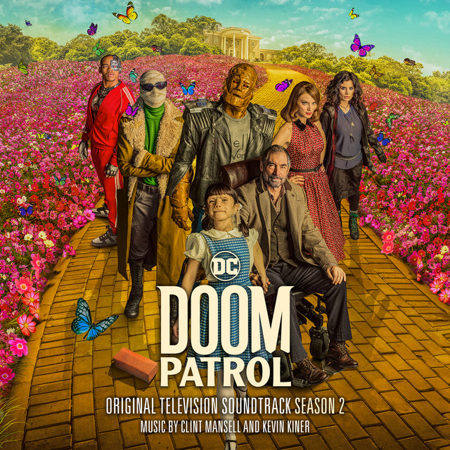 Album cover for Doom Patrol: Season 2 (Original Television Soundtrack) by Clint Mansell, Kevin Kiner