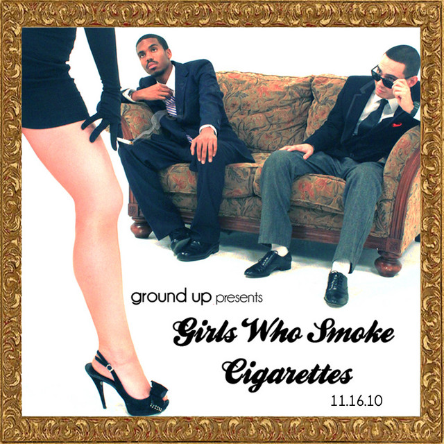 Girls Who Smoke Cigarettes