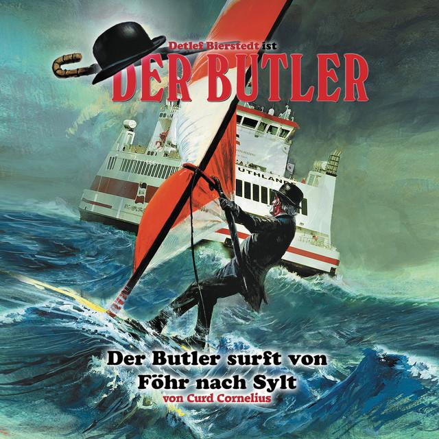 Der Butler surft von Föhr nach Sylt Cover