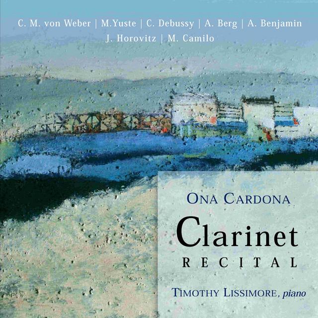 Ona Cardona: Clarinet Recital
