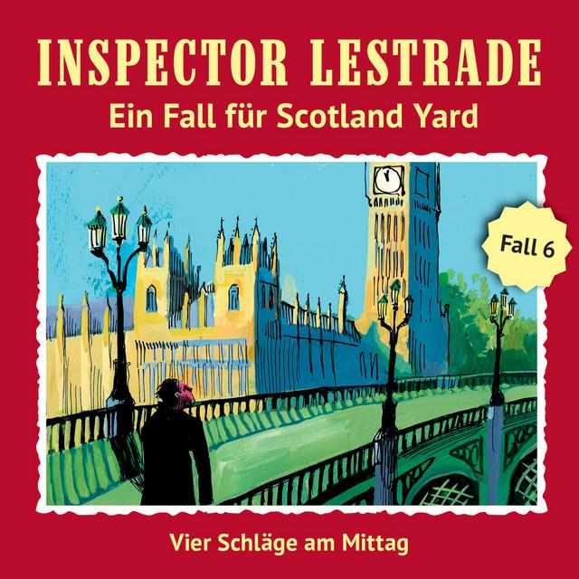 Ein Fall für Scotland Yard,Fall 6: Vier Schläge am Mittag Cover